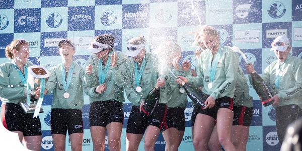 Women's boat race winners