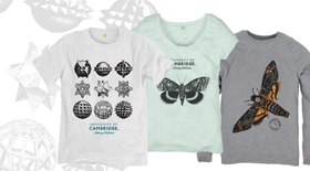 Library clothing collection t-shirts