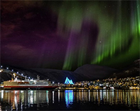 Northern lights from Tromso