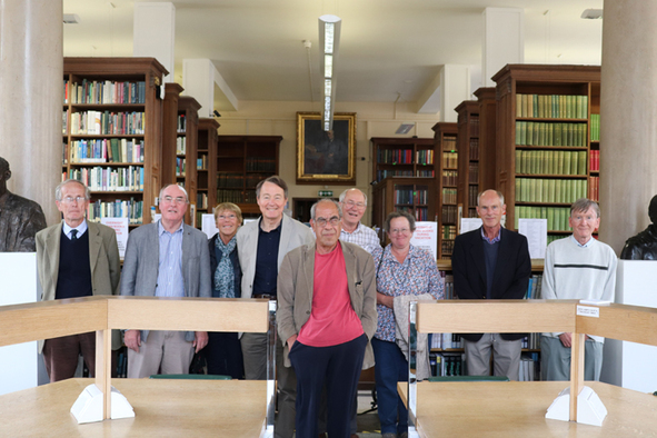 Class of 1972 in the Balfour Library