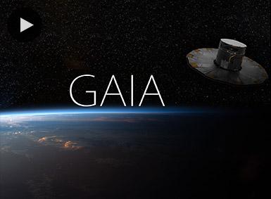 Gaia satellite video still