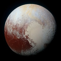NASA crop image of Pluto