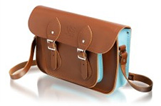 One of the official University satchels produced by The Cambridge Satchel Company