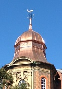 Copper cupola, Department of Earth Sciences