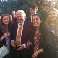 Sir David Attenborough, 90th birthday celebrations at Clare College