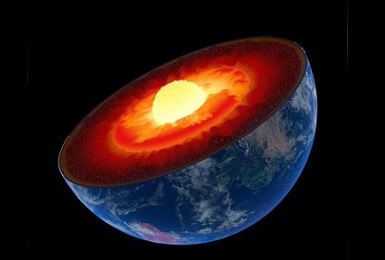 Earth's mantle. Image Credit: Argonne National Laboratory.
