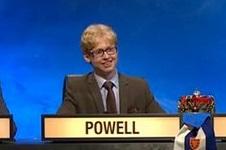 Oscar Powell, University Challenge 2016, credit BBC