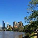 Yarra River & City Skyline