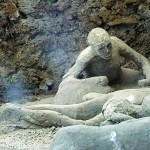Pompeii - people