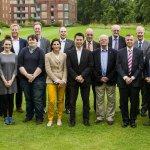Members of the Alumni Advisory Board in July 2014
