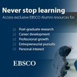 EBSCO Alumni Database Banner
