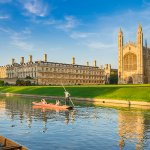 Punting in front of Kings College