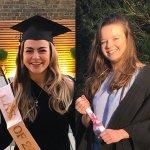 Composite image of new graduates' portraits