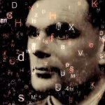 Alan Turing surround by code