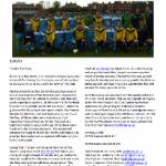 CUAFC winter 2013 newsletter cover