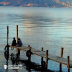 Front cover of Unbound 11 showing Lake Atitlan, Guatemala