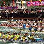 Dragon Boat Race in Hong Kong