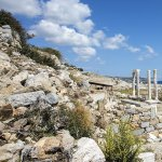 Ancient Ruins in the ancient city of Knidos