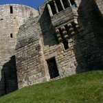Barnard Castle's round tower