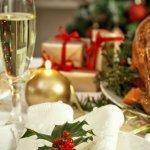 Christmas dinner photo