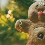 Christmas ginger man