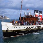 PS Waverley at Swanage