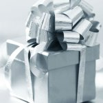 Silver Gift Present