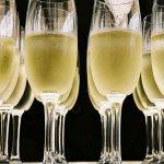 Photo of champagne glasses