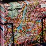 Munich napkins map