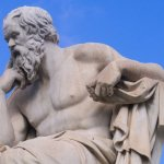 Image of Socrates via Wikipedia