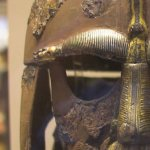 Helmet from the Sutton Hoo ship-burial 1
