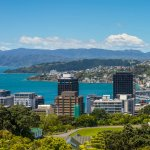 Photo of Wellington in New Zealand