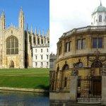Cambridge and Oxford
