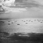 Convoy of ships