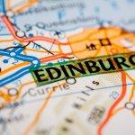 Edinburgh map