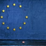 EU flag missing one star