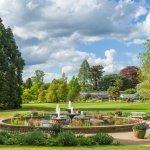 View of Botanic Gardens and Fountain