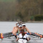 CUWBC lightweights seen at the Thames in Henley