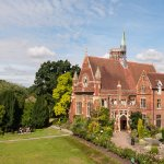 image of Homerton College and Garden