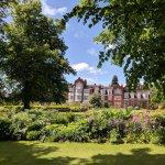 Newnham College gardens