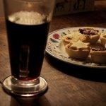 Picture of mulled wine and minced pies