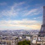 Paris sky line
