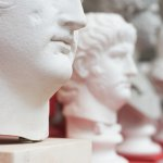 Image of Roman busts