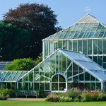 Greenhouses at the Botanic Gardens