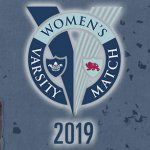 Women's Varsity Match 2019 banner
