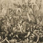 Print of The Peterloo Massacre by Richard Carlile (1819)
