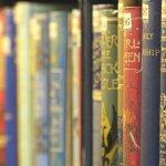 UL books on shelves by Sir Cam
