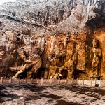 Longmen grottoes in Luoyang, Henan, China