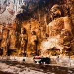 Longmen grottoes in Luoyang, Henan, China