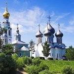 Vologoda River, Russia